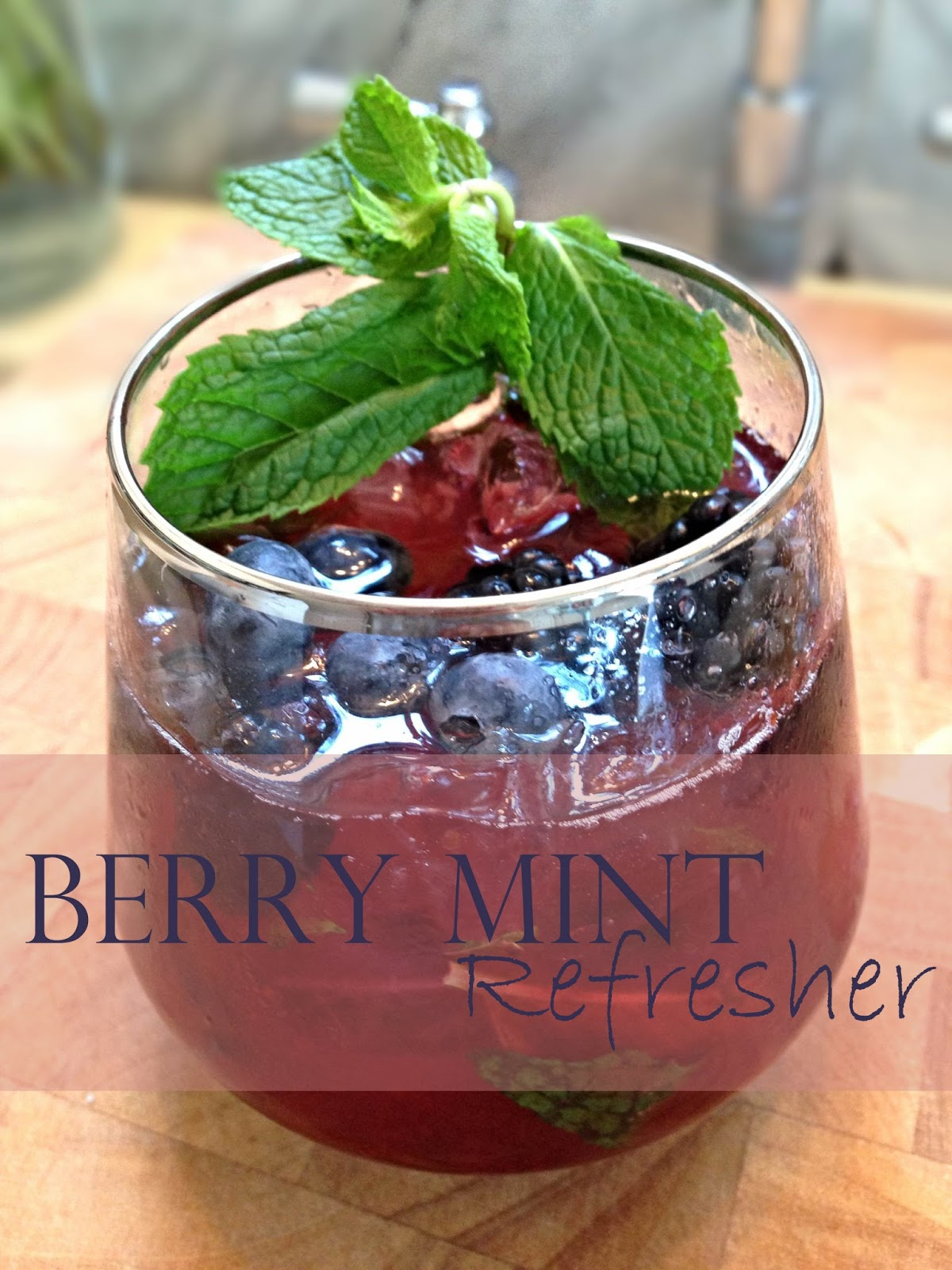 Berry Mint Refresher