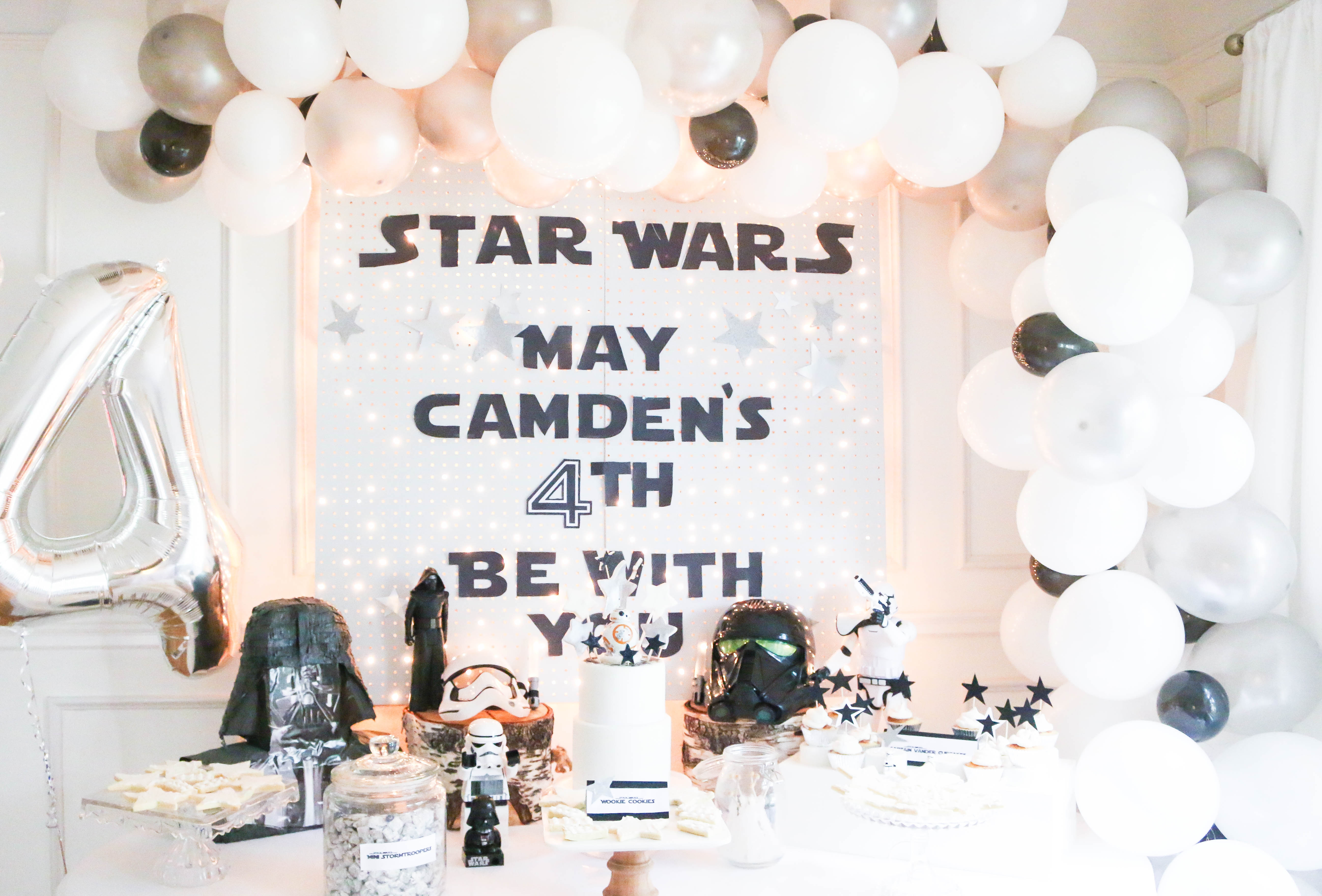 Camden's Lego Star Wars Birthday Party...
