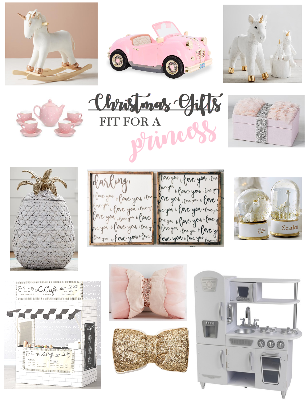 Christmas Gifts Fit for a Princess