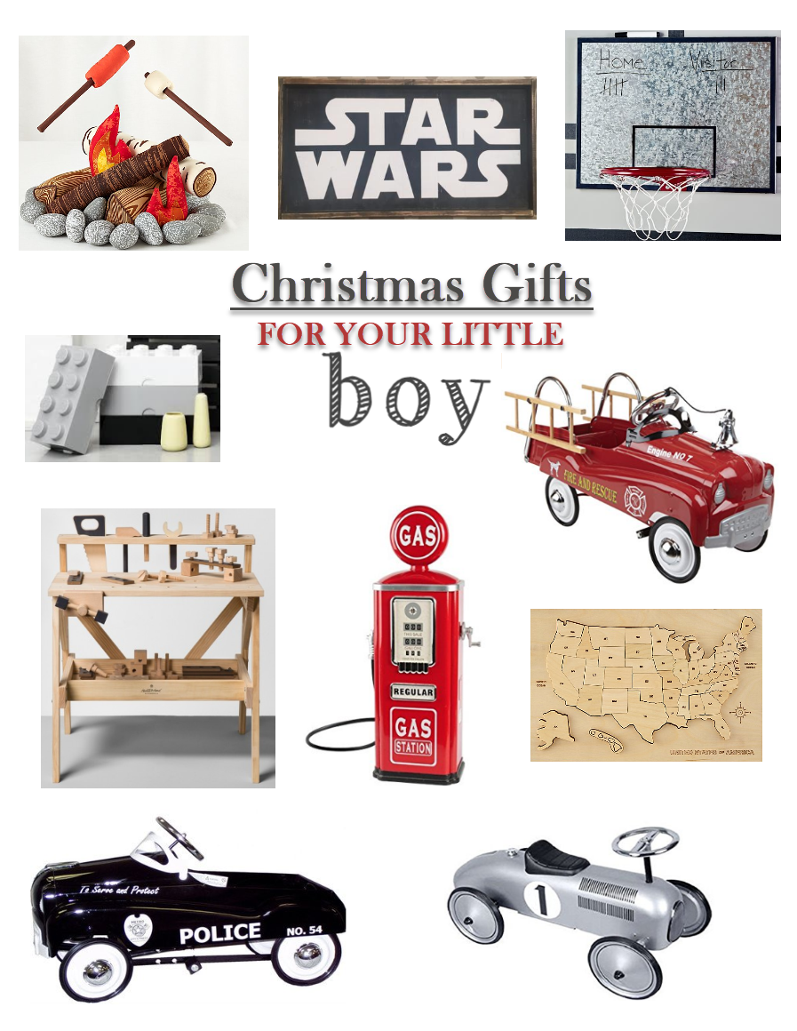 Christmas Gifts for Your Little Boy...