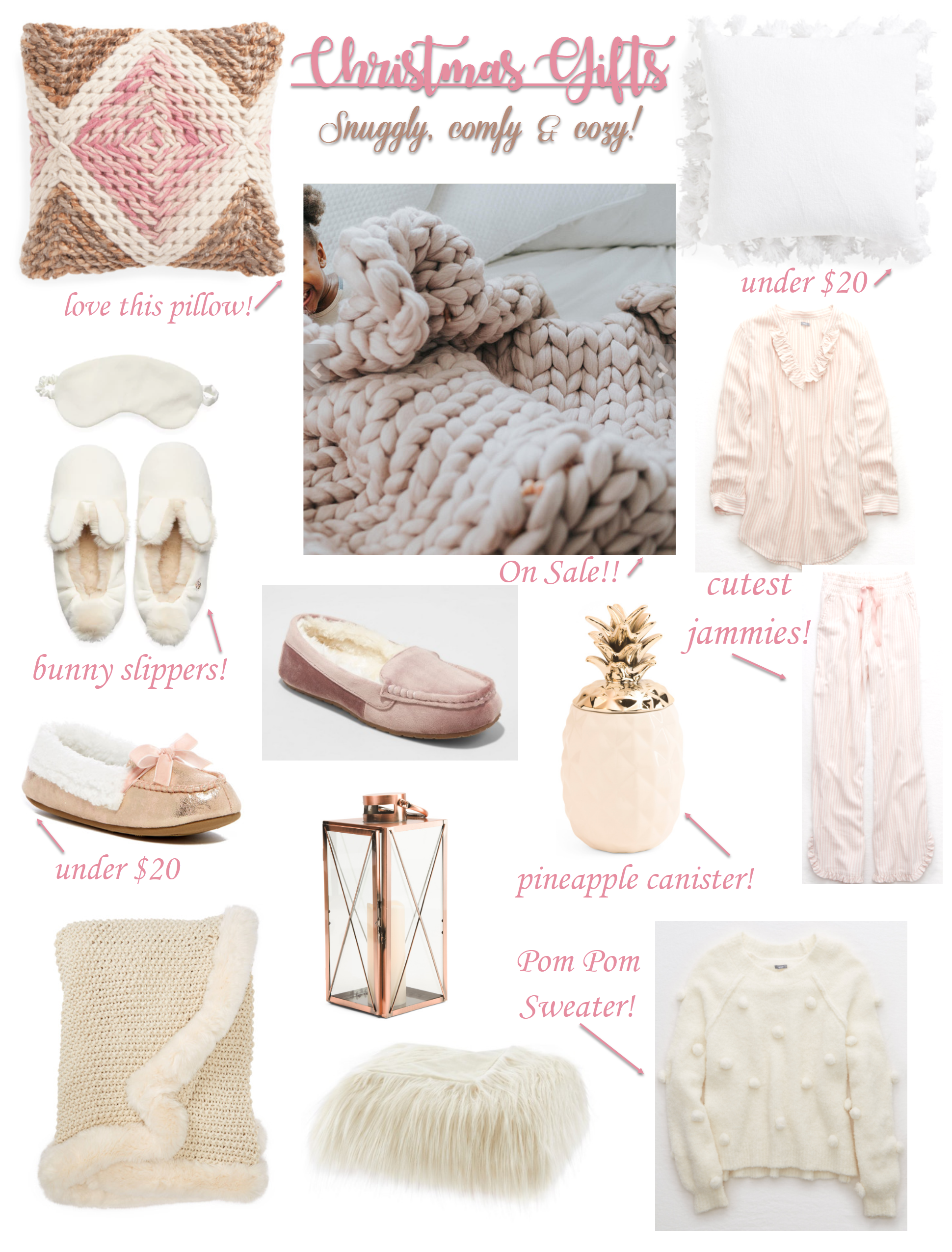 Snuggly, Comfy & Cozy Christmas Gifts