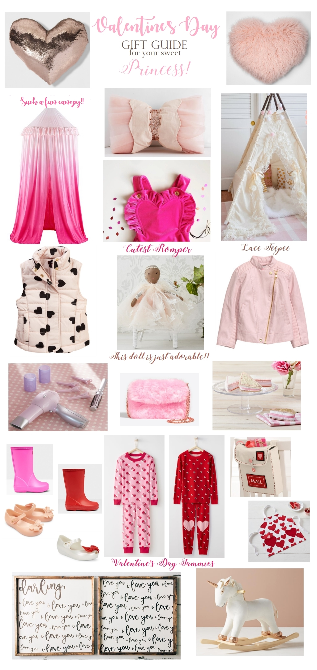 Valentine's Day Gift Guide for your Princess