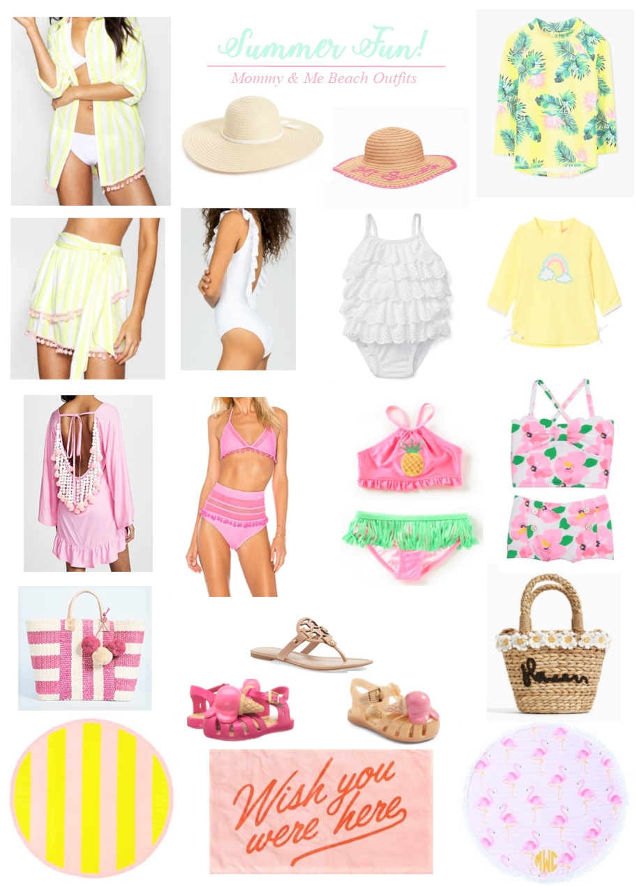 Mommy and Me Beach Outfits