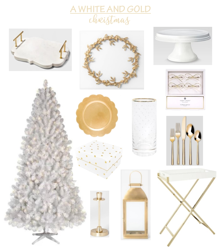 A White and Gold Christmas..